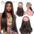 Brazilian 360 lace frontal with bundles, new hairline 360 lace band closure