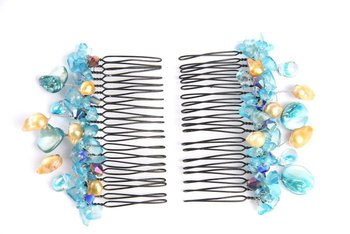 blue sky Hair Accessories