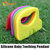 best selling products promotional premium gifts for baby teething/silicone teether for promotional gifts