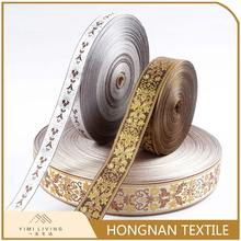 Different kinds of good sealed new curtain jacquard webbing