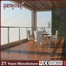 outdoor stainless cable railing systems with hardware