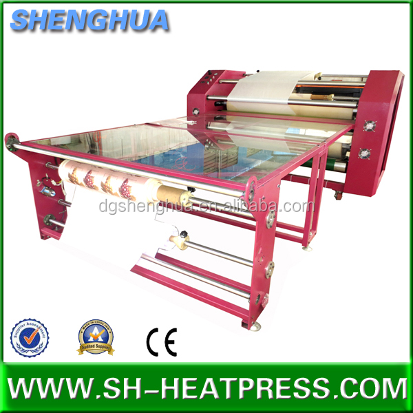 Calender big size heat press machine for sublimation transfer press sports wear