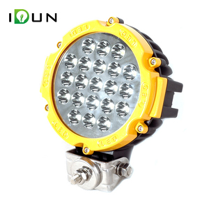 China 7 Inch 12V Offroad JEEP 4x4 Tractor 63w LED Round Work Light