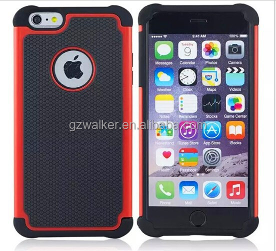 Hot Selling Factory Price Cell Phone Rugged Case with Football Lines for iphone 6, Mobile Phone Accessory
