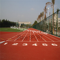 IAAF Certification mixed system rubber running track synthetic polyurethane athletic track price
