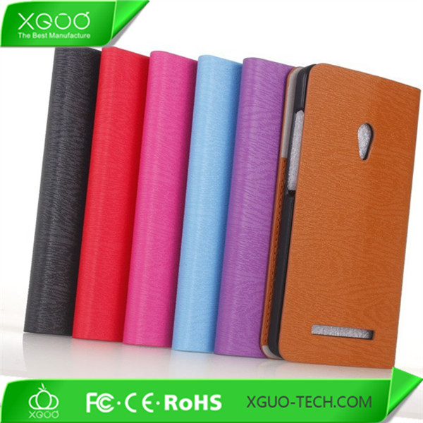 tree pattern flip cover for asus zenfone 5