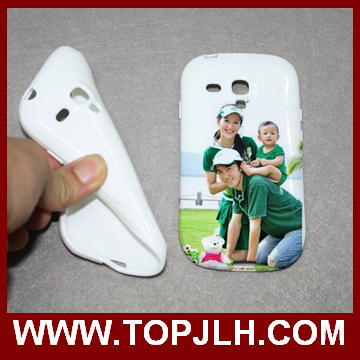 3D TPU Sublimation Case for Samsung S3 mini Low Temperature Case
