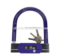 high quality wholesale price long round bicycle anti-theft u locks electric bicycle u lock 901 902 903 bicycle parts