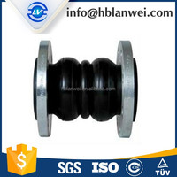 EPDM NBR Double Sphere Flanged Rubber Expansion Joints