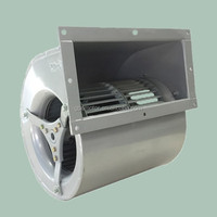 High efficiency Double inlet EC centrifugal fan Blower with low noise for Heat Recovery Ventilation 160