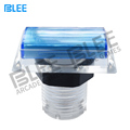 Arcade parts factory direct wholesale zero delay illuminated switch translucent square 32 mm LED arcade push button