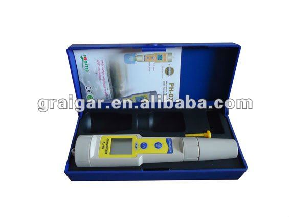 PH-035 Waterproof PH and Temperature Meter with CE certificate, cheap price, lower cost