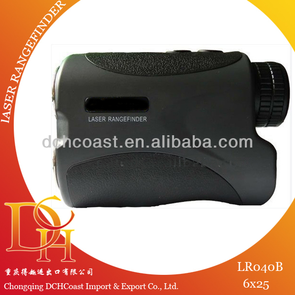 High frequency distance measuring binoculars devices
