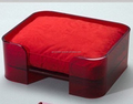 luxury sofa clear acrylic square pet bed wish cushion