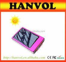 portable power bank solar panel 8000mah solar power bank,waterproof power bank