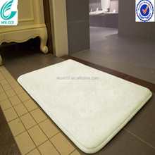 Anti slip waterproof wholesale 100% polyester microfiber bath mat with max 2m and pile weight 230gsm