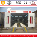 hot sale dustless abrasive blasting booth/container blasting rooms manufcturer