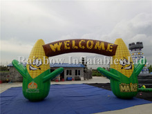 Top Selling Durable Cheap Inflatable Arch For Advertising,Corn Arch