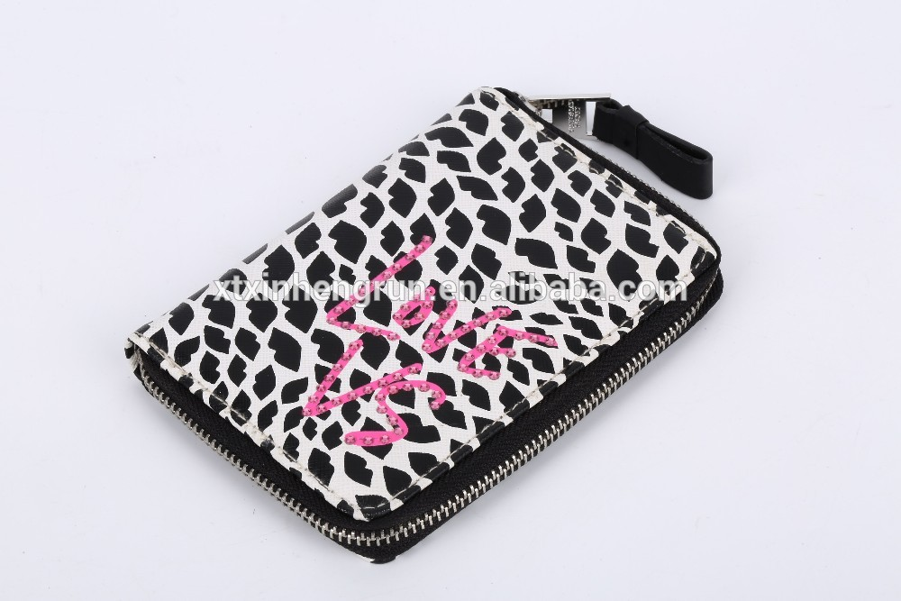 Factory wholesale new design high quality polyester wallet