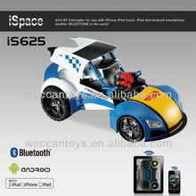 iS625 -transform and roll out! bluetooth control RC toy robot car