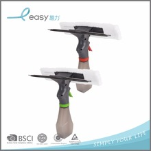 2017 New Glass Cleaning Window Wiper Squeegees With Microfiber Cloth