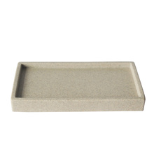 Portable rectangle shape hotel deocrations polyresin shower tray