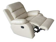 Reasonable prices living room leisure sofa recliner leather sofa