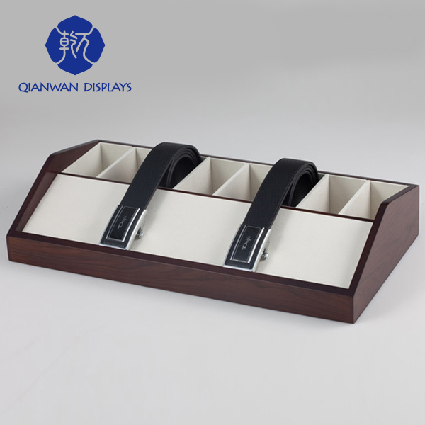 Top brand luxury wooden belt display stands for tiles made in China