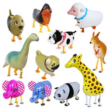 Wholesale Pet Toy Animal Walking Balloon Helium Foil Balloons Animal Balloon