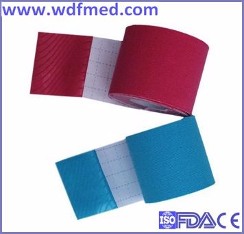 China Manufacturer Athletes Care Colored Sport Kinesiology Tape
