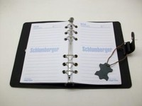 A4 Multifunction Calculator Leather Notebook Organizer