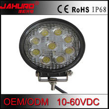 Car Auto parts LED work light 4.5inch 27w auto roof driving fog lamp for 4x4 offroad jeep motorcycle trucks