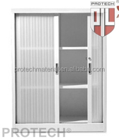 aesthetic appearance of roller shutter door for steel cabinet of office furniture