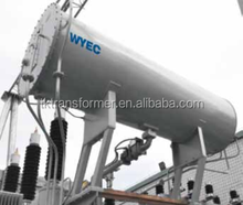 corrugated metal transformer oil storage tank