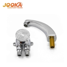 Copper foot valve &Copper basin water faucet for toilet