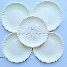decorative paper plates for wedding party