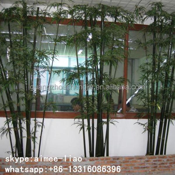 Huis tuin q092813 dunne bamboe stok hek decoratie kunstmatige bamboe stok kunstmatige bomen - Bamboe hek ...