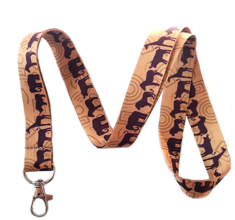 Good Looking Personalized Nylon With Logo Tool Custom Lanyard