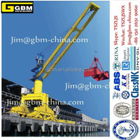 Liebherr HLM Mobile Harbor Luffing Crane Folding boom hydraulic Ship Crane floating crane
