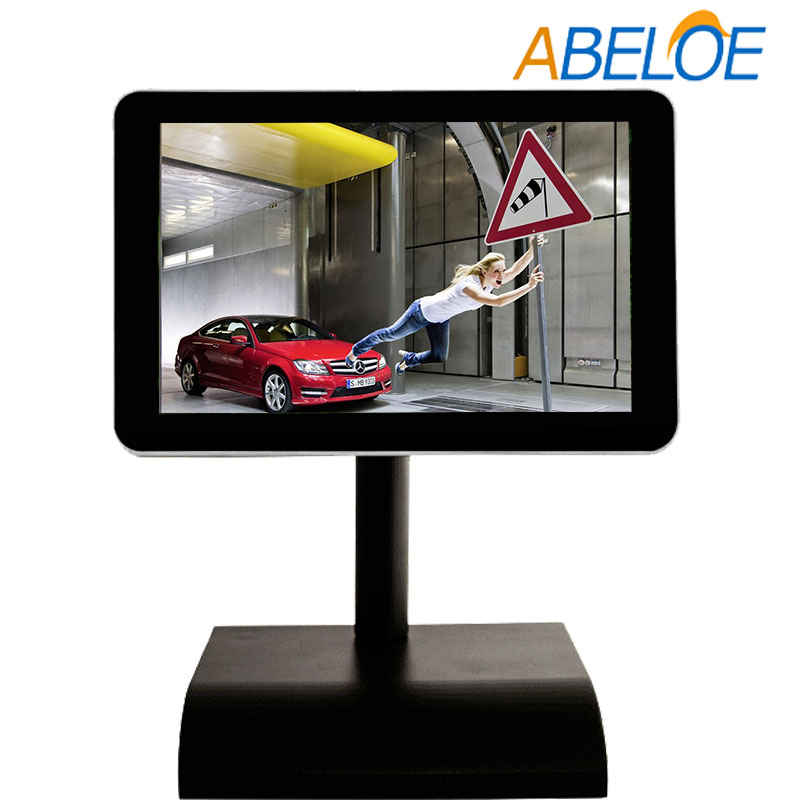"indoor used android system 10.1"" smart advertising player with wifi"