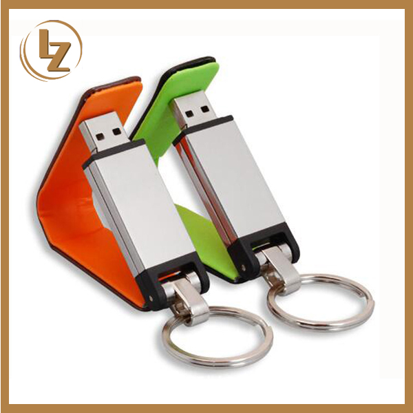 Hotsale new design leather luxury usb flash drive,Embossed logo leather usb 1GB to 64GB