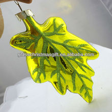 GML Factory nice and fashion Christmas glass decoration Supplies