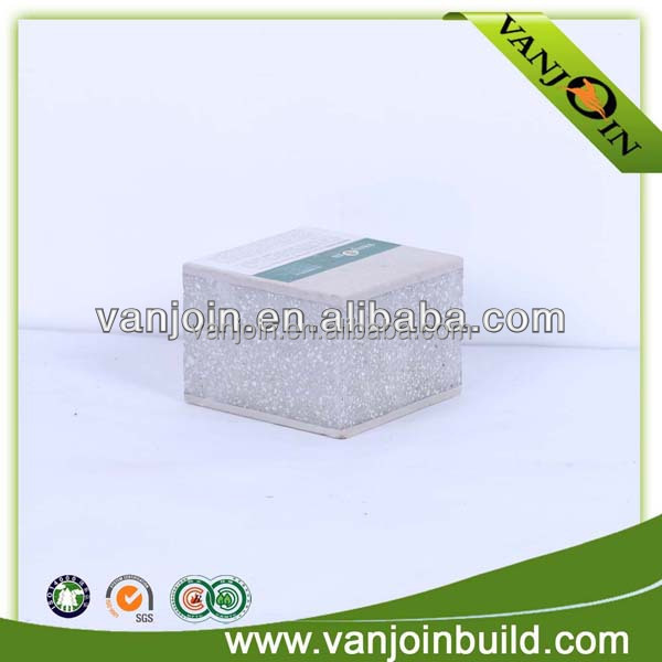 Thermal insulation fast install interlocking exterior wall panel