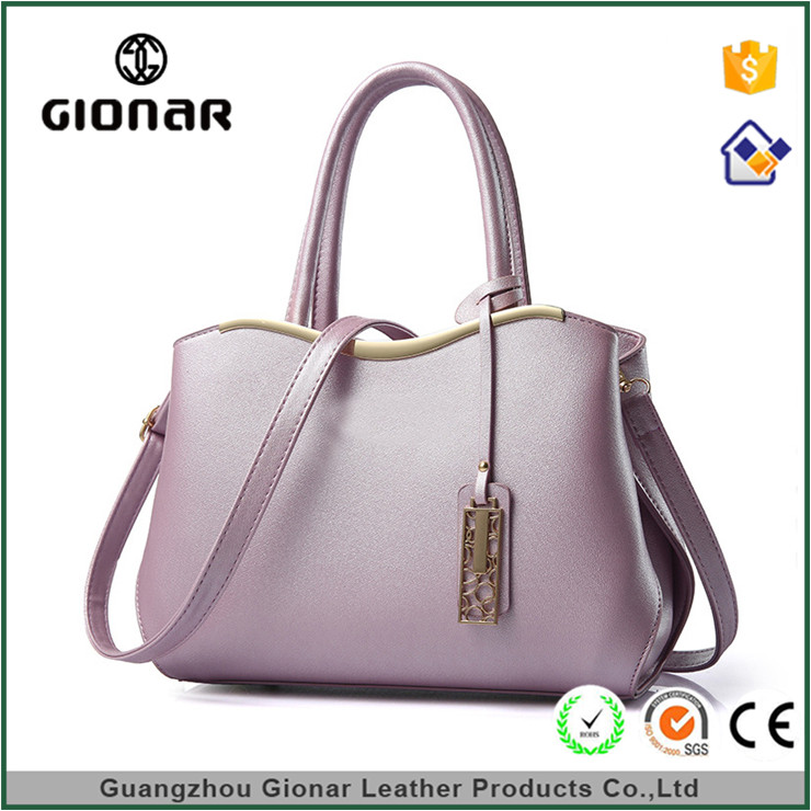 OEM Brands Lady 100 Pu Leather Thailand Fashion Images Shoulder Tote Bag Reflections Handbags