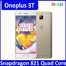 Global version Original oneplus 3T 4G Mobile Phone 5.5inch HD 1920x1080 IPS Snapdragon 821 Quad Core Android 7.0 6GB RAM 64GB