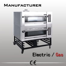 Double Deck Bread Baking Gas Oven , Bakery Equipment Prices