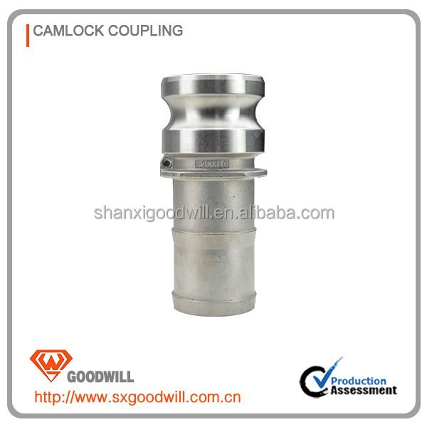 type A stainless steel camlock quick coupling