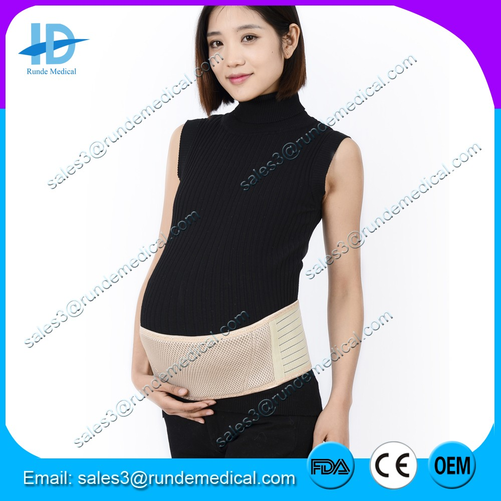 Runde Medical pregnancy belly support back pain Maternity belt with CE FDA approved