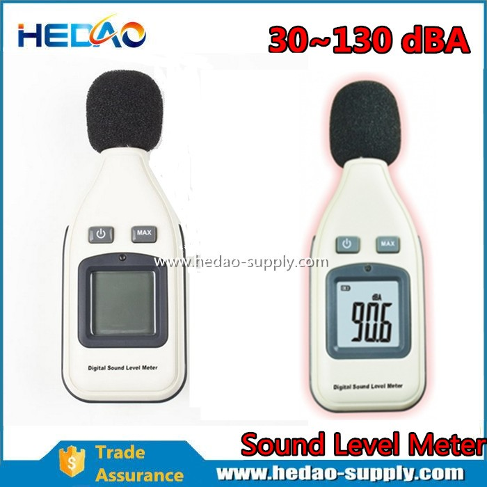 Digital USB sound level Meter with calibrator LED monitor