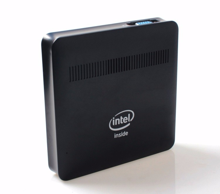 Intel Apollo Lake Windows Mini Embedded PC With RJ45 LAN VGA 128GB SSD